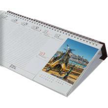 Fekvő asztali naptár